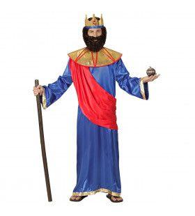 Bijbelse Koning Hiram Van Tyrus Man Kostuum