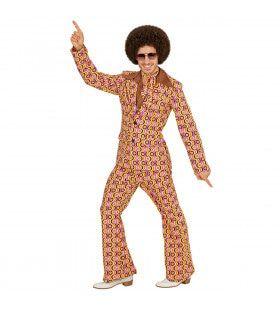 Groovy George 70s Heren Kostuum, Lps Man