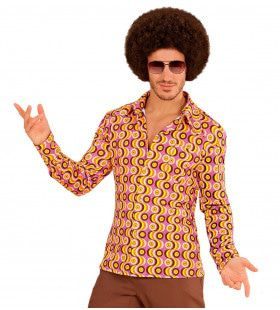 Groovy Garry 70s Heren Shirt, Lps Man