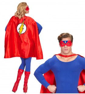 Super Hero Cape Superblue