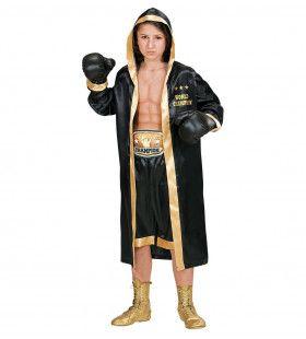 Bokser Wereldkampioen Mcgregor Jongen Kostuum