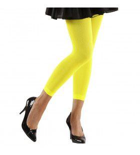 Basis Legging Geel Vrouw