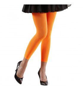 Basis Legging Oranje