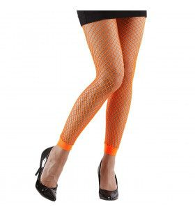Basis Visnet Legging Oranje