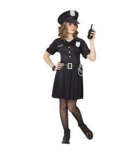 Streng Maar Rechtvaardig Politie Meisje Kostuum