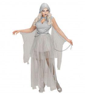Geketende Klassieke Geest Vrouw Kostuum
