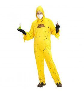 Gevaarlijke Stoffen Kostuum Man