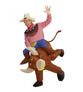 Woedende Rodeo Stier Kostuum