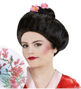 Pruik, Geisha Kyoto