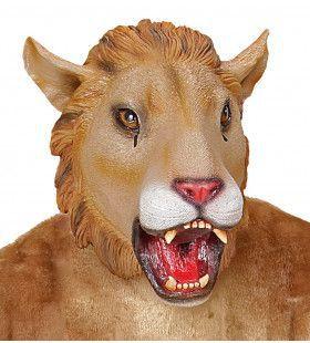 Cartoony Masker Leeuw