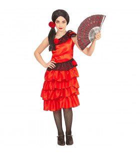 Senorita Andalucia Meisje Kostuum