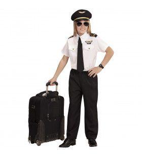 Piloten Transatlantisch Jongen Kostuum