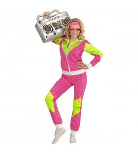 Trainingspak Miss Druk Vrouw Kostuum