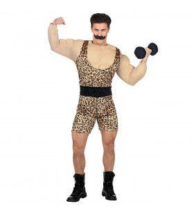 Sterke Man Uit Het Circus Kostuum