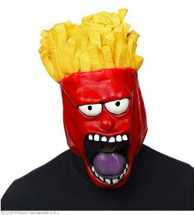 Zak Patat French Fries Frites Masker