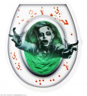 Grijpgrage Zombie Toiletbril Hoes