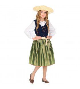 Keurig Renaissance Meisje Kostuum