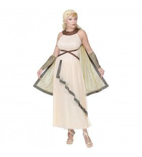 Freya Schone Germaanse Godin Vrouw Kostuum