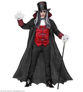 Transsylvaanse Bloedzuiger Vampier Man Kostuum