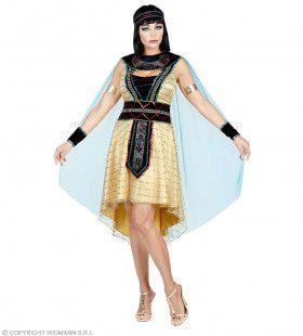 Egyptische Farao Hatsjepsoet Vrouw Kostuum
