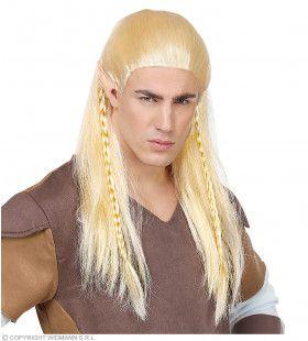 Tolkien Elf Groenblad Pruik