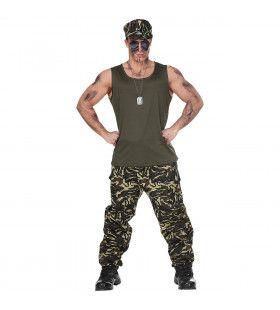 Last Man Standing Soldaat Kostuum