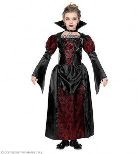 Statige Vampier Gravin Anastasia Meisje Kostuum