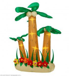 Drie Opblaasbare Tropische Palmbomen 240 Centimeter