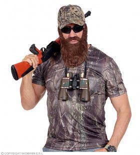 Camouflage Shirt Jager Canada Met Cap Man