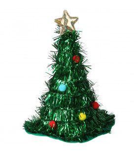 Kerstboom Muts Met Piek En Ballen