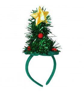 Haarband Mini Kerstboom Met Ster