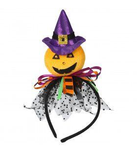 Luxe Heksen Pompoen Haarband Halloween