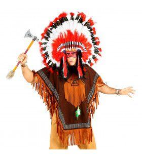Poncho Pee Dee Indiaan Man
