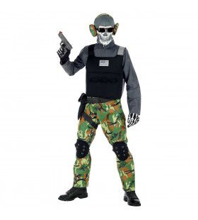Zombie Soldaat Eeuwige Slagvelden Jongen Kostuum