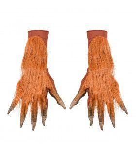 Horror Handschoenen Weerwolf Met Vacht