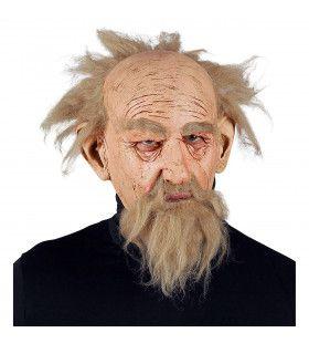 Masker Wijze Tovenaar Met Baard