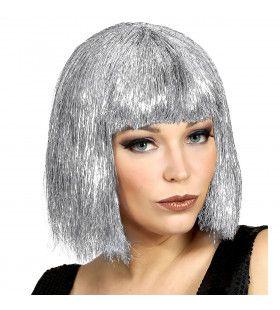 Bob Pruik Vegas Glitter Zilver