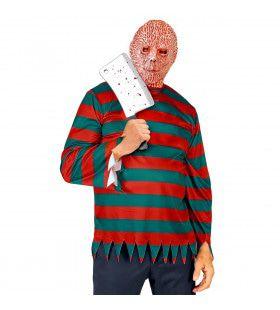 Gruwelijke Nachtmerrie Freddy Krueger Moordenaar Man