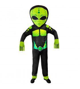 Gifgroen Science Fiction Ruimtemonster Kostuum