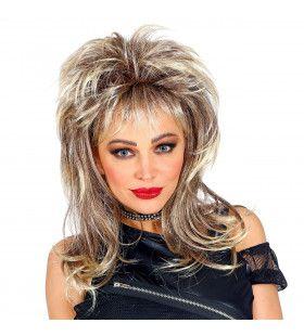 80s Rockster Pruik Cindy