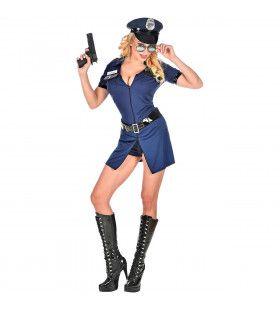 Ondeugende Politie Agente Kom Jij Maar Mee Vrouw Kostuum