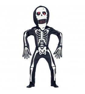 Ongelukkig Skelet Met Waterhoofd Kind Kostuum