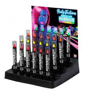 Display Met 24 Neon Make-Up Potloden