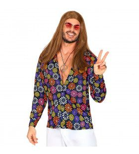 Shirt Vol Madeliefjes Hippie Man