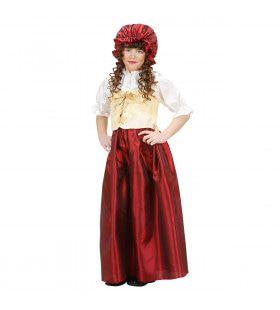 Boeren Deerne Platteland Meisje Kostuum