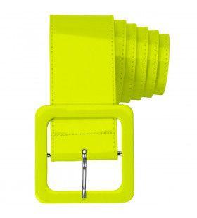 Neon Gele Riem Vinyl