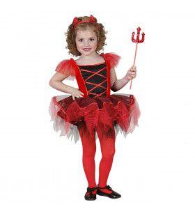 Dansende Duivel Ballerina Meisje Kostuum