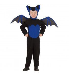 Fladder Vleugel Vleermuis Kind Kostuum