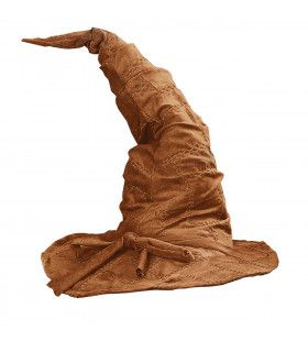 Hoed Tovenaar Catweazle Bruin