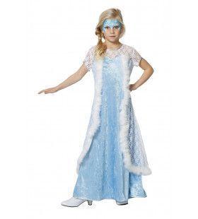 IJsprinses Koude Liefde Meisje Kostuum